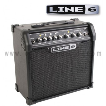 LINE 6 Spider IV 15 15W 1x8 Modeling Guitar Amplifier