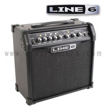 LINE 6 Spider IV 15 15W 1x8 Amplificador Para Guitarra