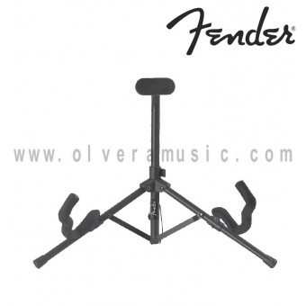 Fender (099-1807-000) Tubular Mini Acoustic and Electric Guitar Stand