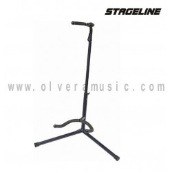 Stageline (GS120DBL) Atril para Guitarra en Color  Azul Oscuro