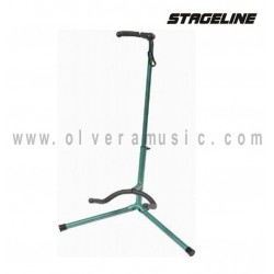 Stageline (GS120GN) Atril para Guitarra en Color  Verde