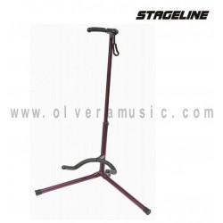 Stageline (GS120PUR) Atril para Guitarra en Color Morado