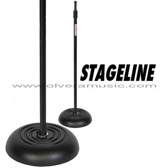 Stageline (MS603B) Round Base Weighted Mic Stand