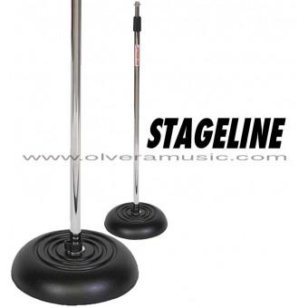 Stageline (MS603C) Base Redonda c/Peso Para Micrófono