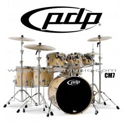 """PDP """"Concept Maple Series"""" 7-Piece Drum Set  - Natural Lacquer"""
