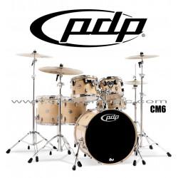 """PDP """"Concept Maple Series"""" 6-Piece Drum Set  - Natural Lacquer"""