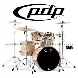 """PDP """"Concept Maple Series"""" 5-Piece Drum Set  - Natural Lacquer"""