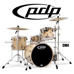 """PDP """"Concept Maple Series"""" 4-Piece Drum Set  - Natural Lacquer"""