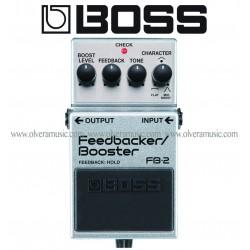 BOSS FeedBack/Booster Pedal de Efectos para Guitarra