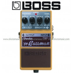 BOSS '59 Bassman - Legend Series Pedal de Efectos para Guitarra