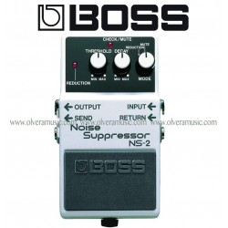 BOSS Noise Suppressor/Power Supply Pedal de Efectos para Guitarra