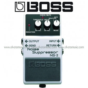 BOSS Noise Suppressor/Power Supply Guitar Effects Pedal