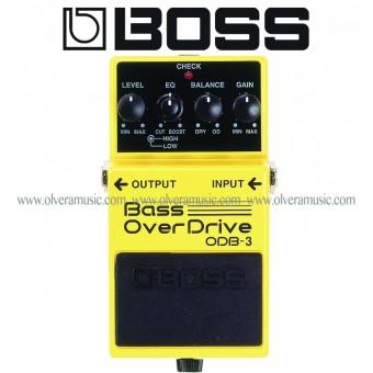 BOSS Bass OverDrive Bass Effects Pedal