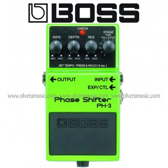 BOSS Phase Shifter Guitar Effects Pedal