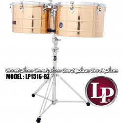 "LP Prestige Timbales 15"" & 16"" Extra Deep Shells - Bronze Finish"