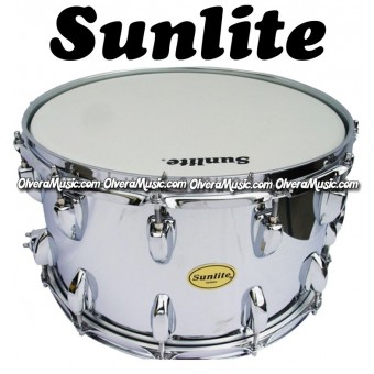 SUNLITE Snare 14X8 Chrome Finish 12-Lug