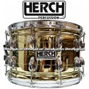 HERCH Snare 14x8 Gold Color w/Engraving 12-Lug