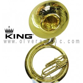 KING 2350 Metal Sousaphone Refurbished