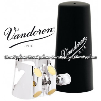 VANDOREN Optimum Bb Clarinet Ligature & Plastic Cap