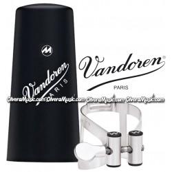VANDOREN Masters M/O Bb Clarinet Ligature & Plastic Cap