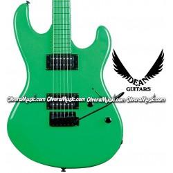 DEAN GUITARS Guitarra Electrica Custom Zone - Verde Neón