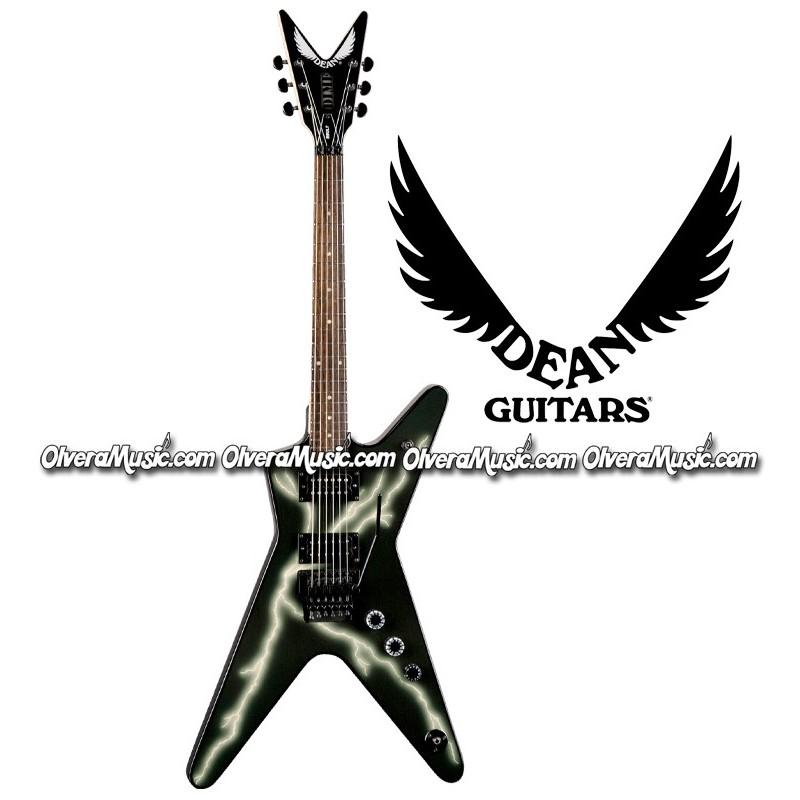 Dean guitars guitarra electrica dimebag black bolt ml for Luthier guitarra electrica