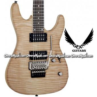 DEAN GUITARS Custom 350 w/Floyd Rose Tremolo Electric Guitar - Natural Gloss