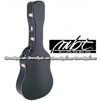MBT CASES Hardshell Wooden Acoustic Guitar Case