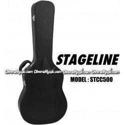STAGELINE Estuche Duro Para Guitarra Clasica