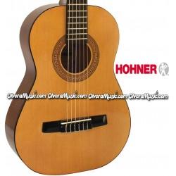 HOHNER Guitarra Classica Medida 1/2 para Estudiante - Natural