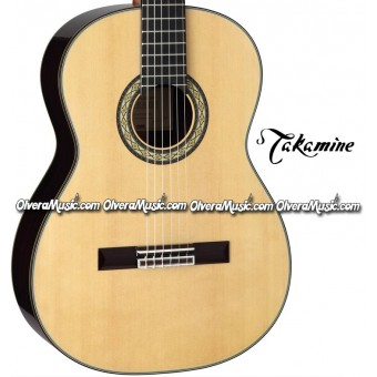 TAKAMINE Classical & Hirade Guitar - Gloss Natural Finish