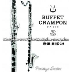 BUFFET Serie Prestige Clarinete Bajo Profesional Sibemol