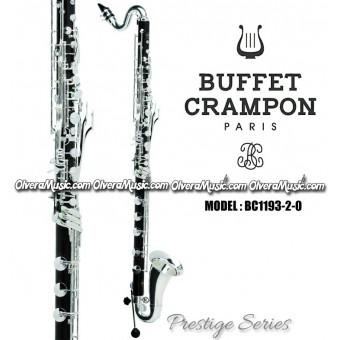 "BUFFET ""Prestige"" Clarinete Bajo Profesional - Sibemol"