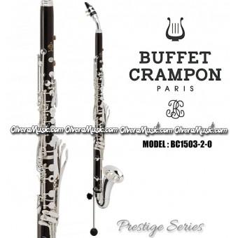 """BUFFET """"Serie Prestige"""" Clarinete Alto Profesional - Mibemol"""