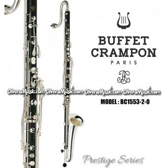 """BUFFET """"Prestige"""" Clarinete Contra Alto Profesional - Mibemol"""