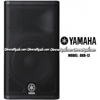 "YAMAHA 12"" Powered Speaker, 1100 Watt"