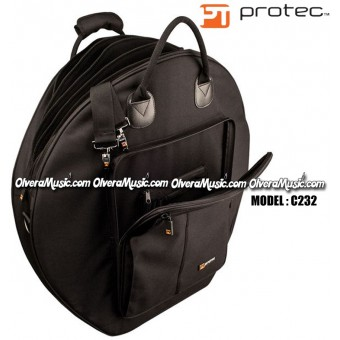 """PROTEC Deluxe Series 24"""" 6-Pack Cymbal Bag"""