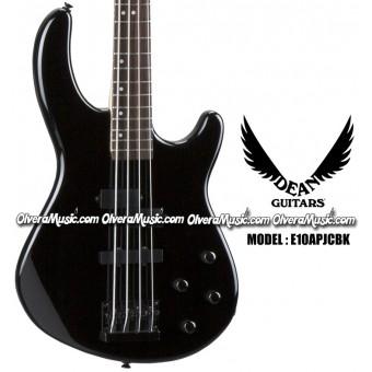 DEAN GUITARS Edge 10APJ Bass Guitar - Classic Black