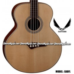 DEAN GUITARS Bajo Fretless Electro/Acustico - Natural